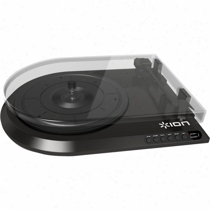 Ion Quick Play Flash - Conversion Turntable W/ Usb Flash Drive