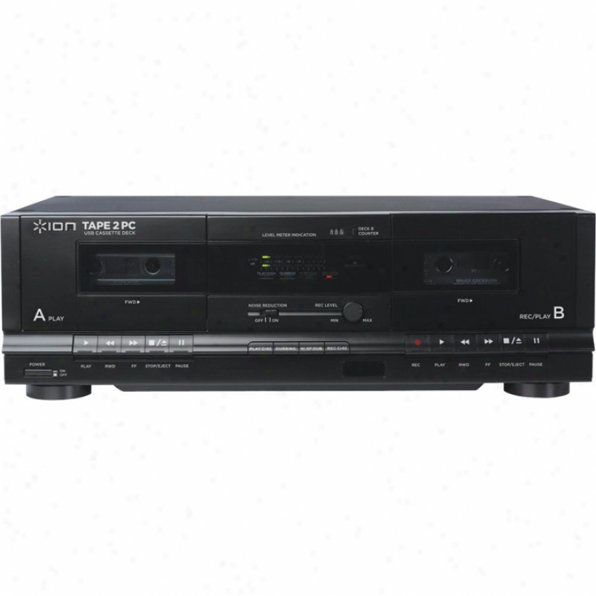 Ion Tape 2 Pc Usb Dual Cassette Deck And Archiver