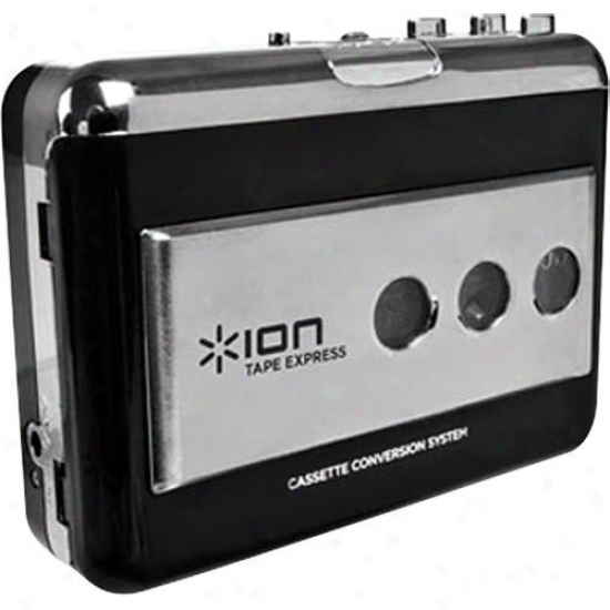 Ion Tape Express Portable Tape To Mp3 Player
