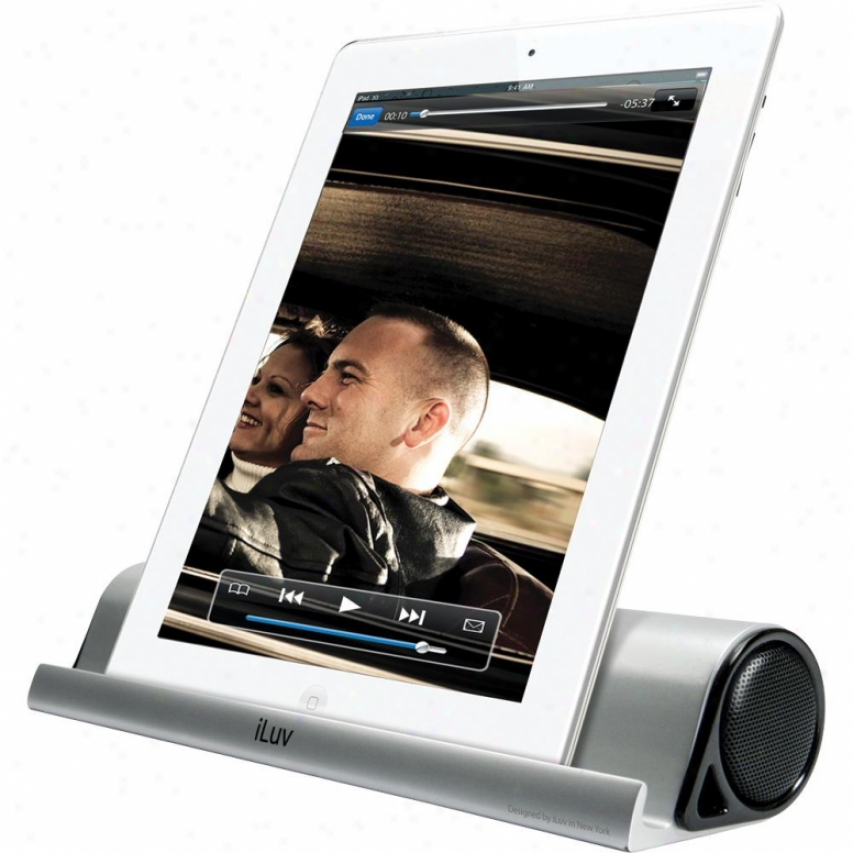 Isp245 Mo'bdats Portable Stereo Bluetooth Speaker Stand