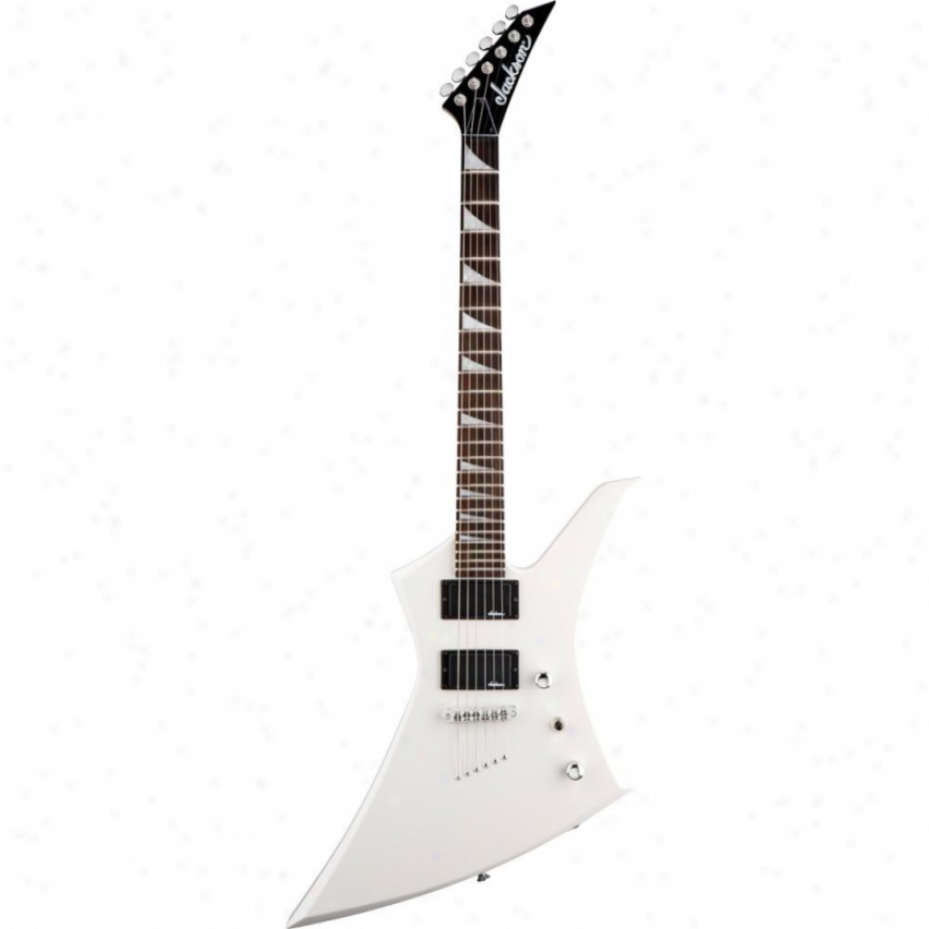 Javkson® Js32t Kelly™ Full of fire  Guitar - Snow White
