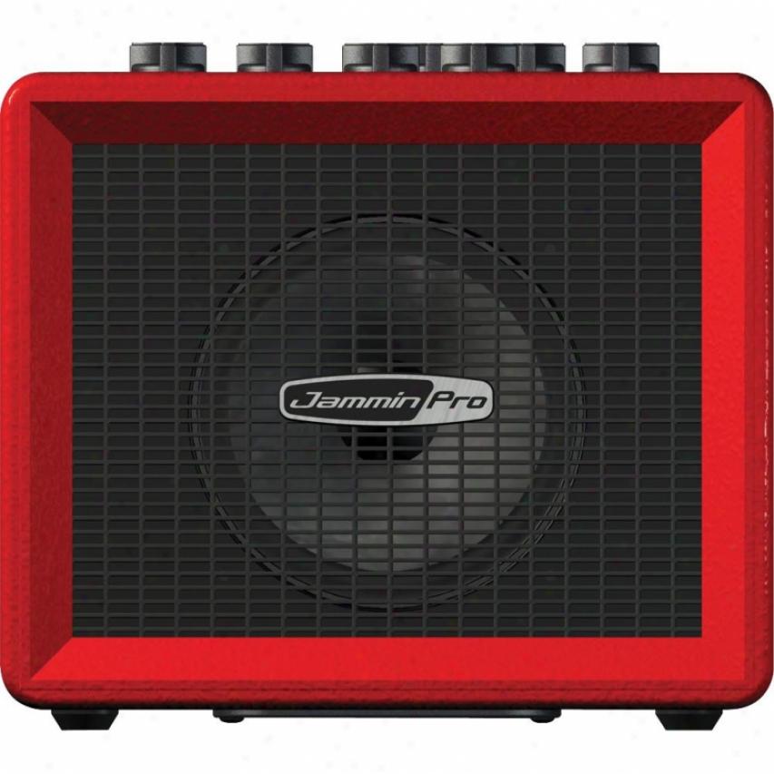 Jammin Pro Mini Jam - Mini Battery Guitar Amp With Rhythm