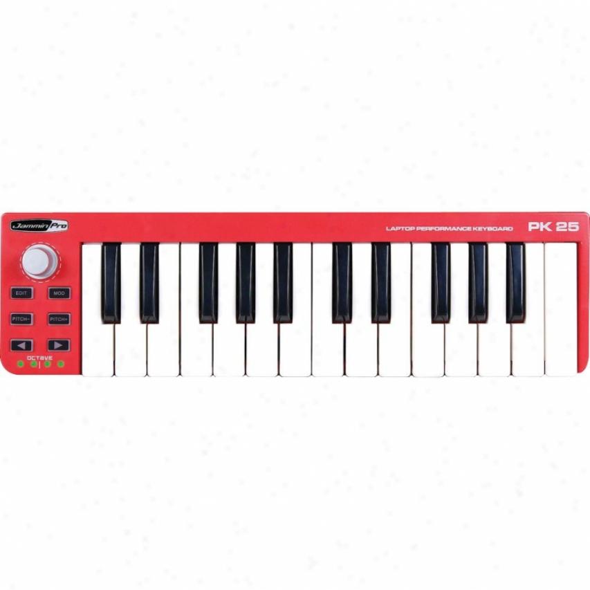 Jammin Pro Pk 25 25-key Laptop Performance Keyboard
