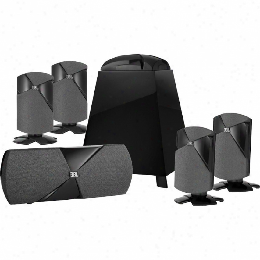 Jbl Cinema 300 5.1-channel Home Theater Speaker Order - Black Lacquer