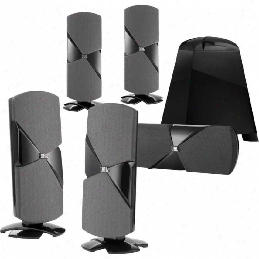 Jbl Cinema 500 5.1-channel Home Theater Speaker System - Black Lacquer