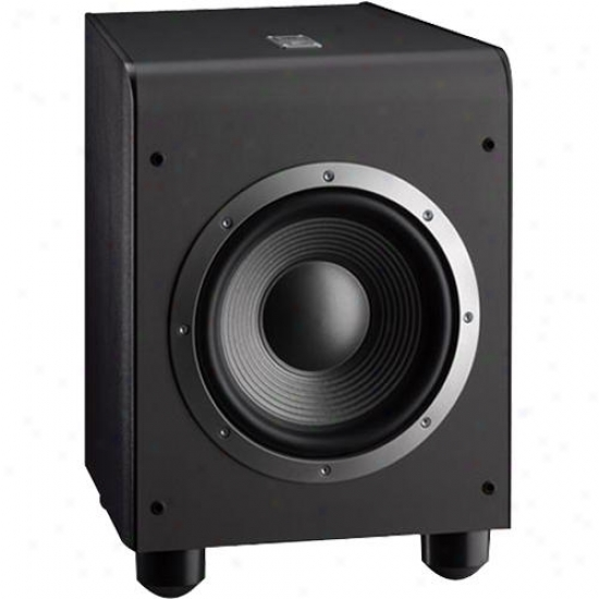 Jb lEs150p Powered Subwoofer - Black Finish With Black Grille
