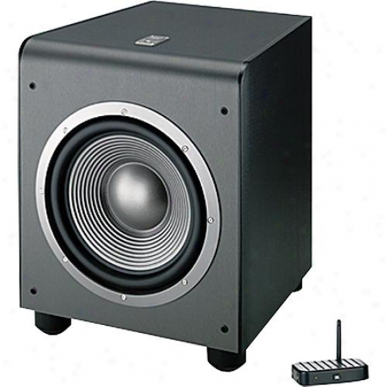 "Jbl Es150pwbk Wireless 10"" 300-watt Powered Subwoofer - Black"