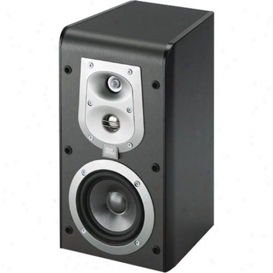 J6l Es20 Bookshelf Speakers - Bpack Finish With Dismal Grille