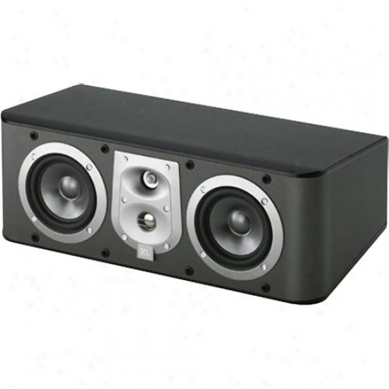 Jbl Es25cb kCenter Channel Speaker - Black Finish In the opinion of Black Grille