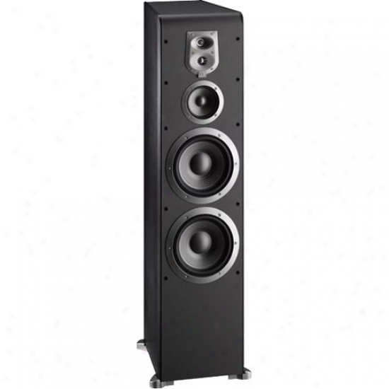 Jbl Es90bk Floorstanding Speaker - Black Finish With Black Grille