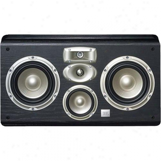 "Jbl Lc2-bk 4-way Dual 6"" Wall-mount Center Channel Speaker - Black"