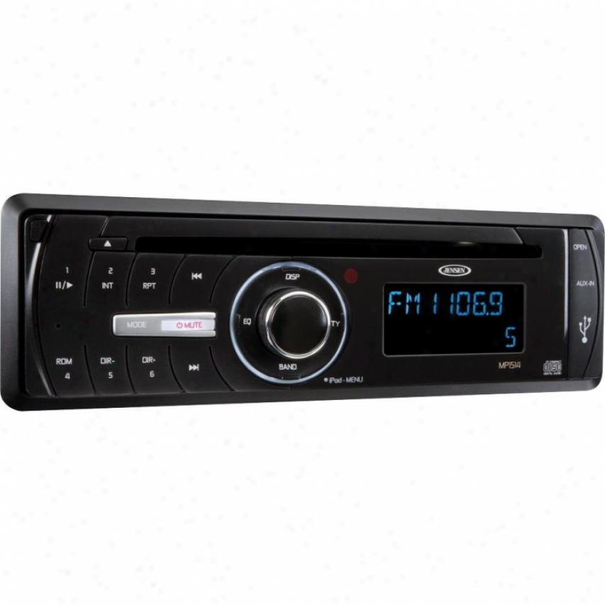 Jensen Mp1514 1-din Ipod/iphone/cd/mp3/wma Car Receiver