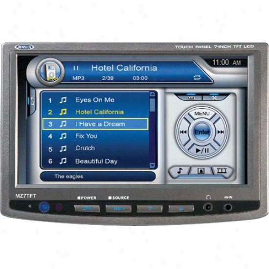 "Jensen Mz7tft 7"" Add-on Tv Toufhscreen For Car Video System"