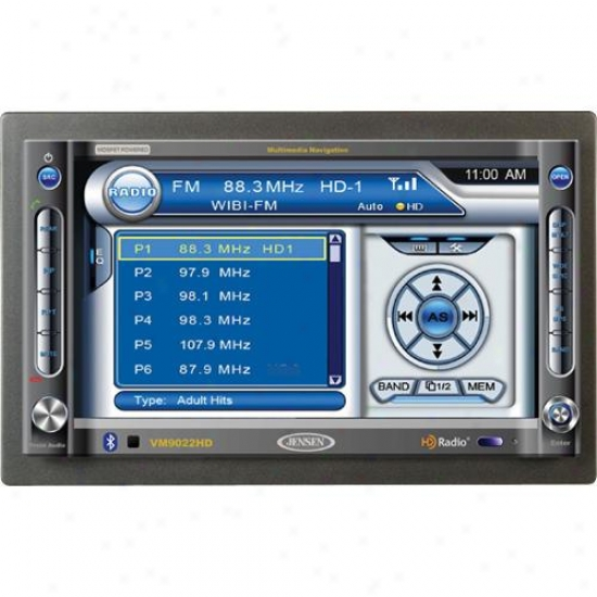 Jensen Vm9022hd Am/fm Hd Radio / Dvd / Cd Bluetooth / Sd Car Receiver