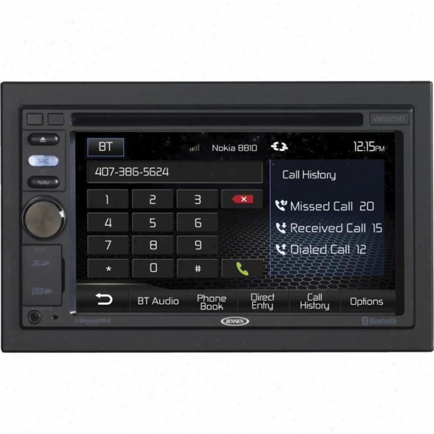 """Jensen Vm9225bt 2-din 6.2"""" Widescreen Lcd Multimedia Car Receiver"""