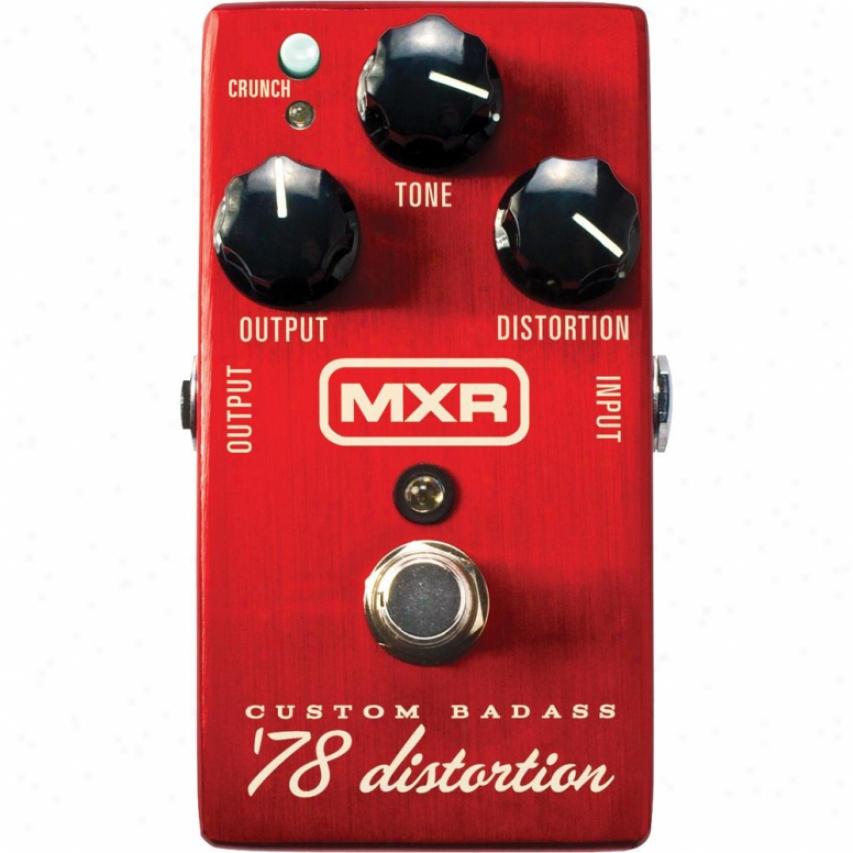 Jim Dunlop Custom Badass '78 Distortion Guitar Pedal - M78