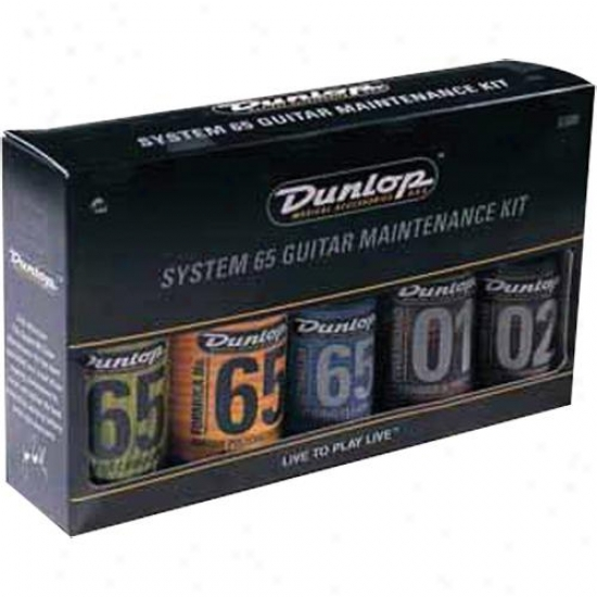 Jim Dunlop D6500 Complete Guitar Care Kit