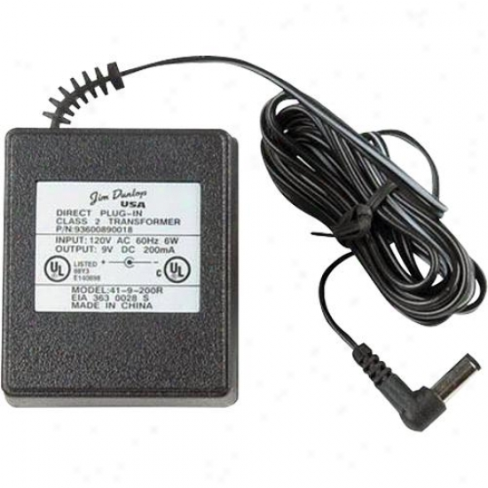 Jim Dunlop Ecb03 9 Volt Ac Adapter