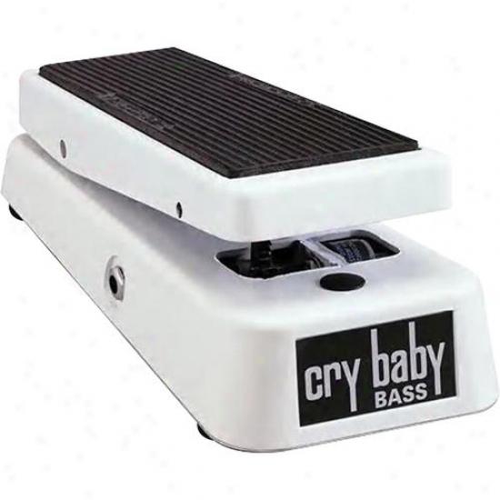 Jim Dunlop Gc105q Crybaby Bass Wah Wah Pedal