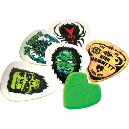 Jim Dunlop Kirk Hammett Signature Picks - 5 Picks - Kh01t088