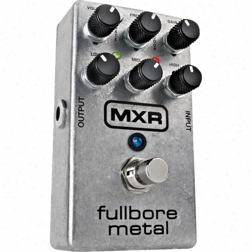 Jim Dunlop M116 Mxr Fullbore Metal Distortion Pedal