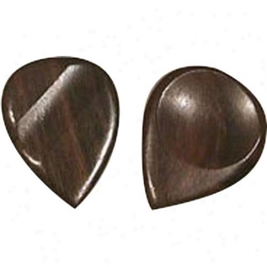 John Pearse String Rosewood Flat Picks - Bag Of 10