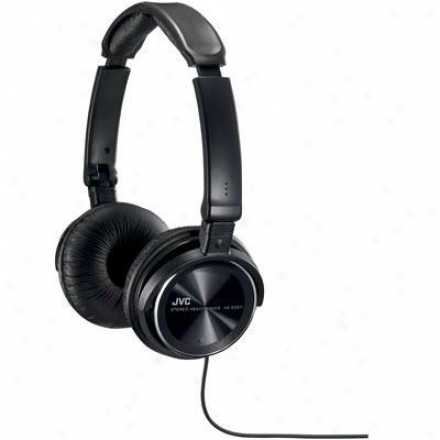 Jvc Black Lightweitht Headphone