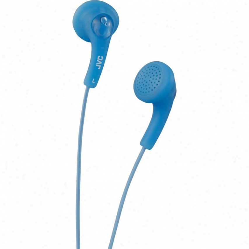 Jvc Ha-f150 Gumy In-ear Headphones - Peppermint Blue