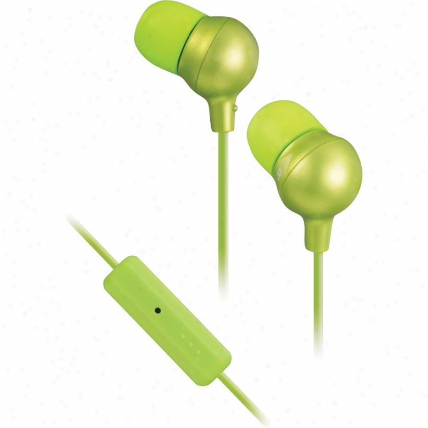 Jvc Ha-fr36 Mrashmallow Earphone/micropjone Headset Green