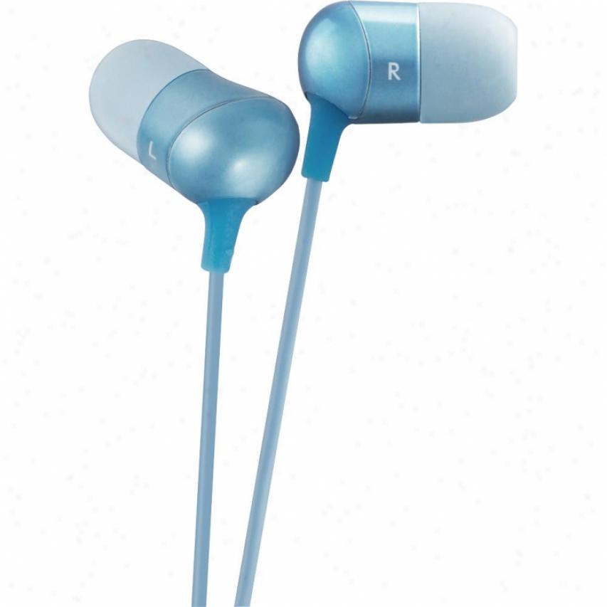 Jvc Ha-fx35 In-ear Canal Marshmallow Headphones - Biue
