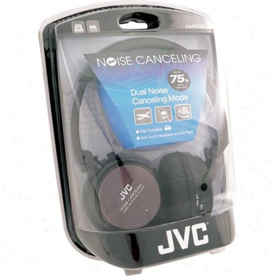 Jvc Ha-nc80 Stereo Noise Cancelling Headphone