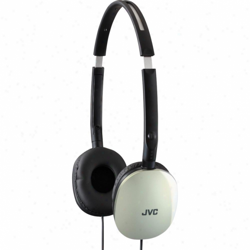 Jvc Headphones Flats Foldable Closed Type Silver Has160s