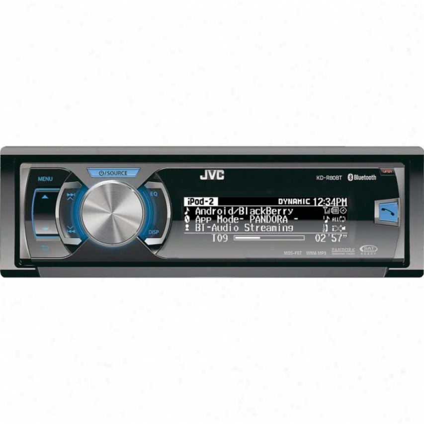 Jvc Kd-r80bt Am/fm/cd Car Receiver With Bluetooth