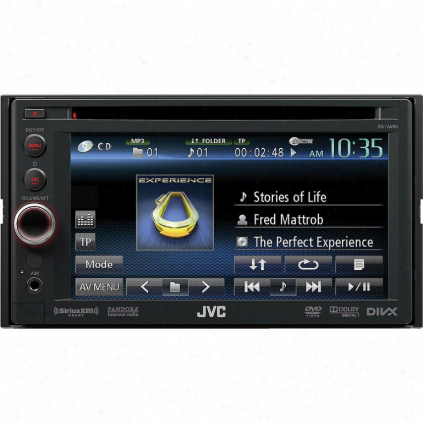 Jvc Kw-av60 Dvd/cd/usb Car Receiver