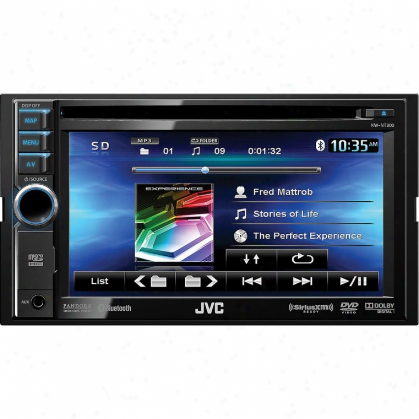 "Jvc Kw-nt300 Dvd/cd/usb 6.1"" Nagigation Car Receiver"