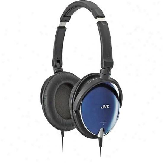 Jvc Lightweight Headpjone Blue
