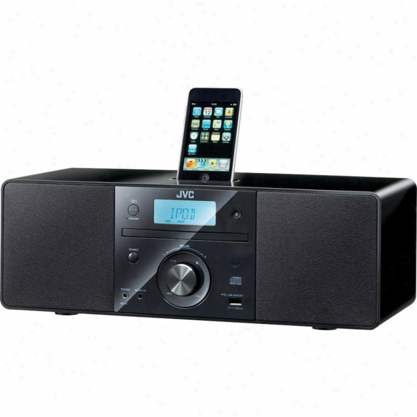 Jvc Rd-n11 Cd Micro Audio System With Ipod Dock