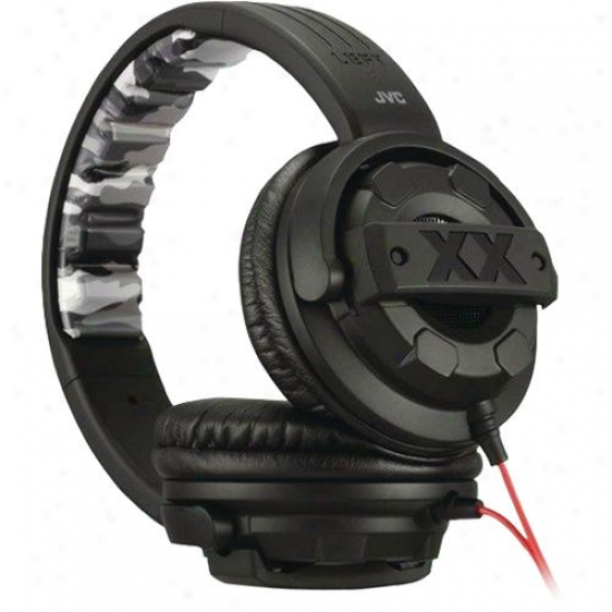 Jvc Xtreme Xplosives Around Ear Headphones Ha-m5x