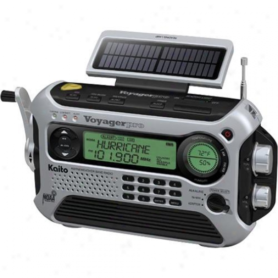 Kaito Electronics Inc. Ka600 Voyager Pro Self Powerec Radio