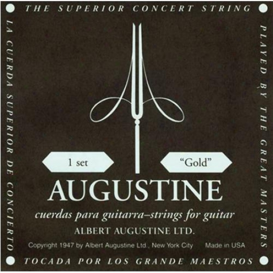 Kaman Music Augustine Gold Label Classical Guitar Strings