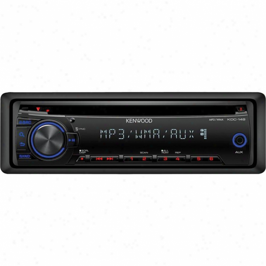 Kenwood In Dash Mp3-cd Receiver Kdc148
