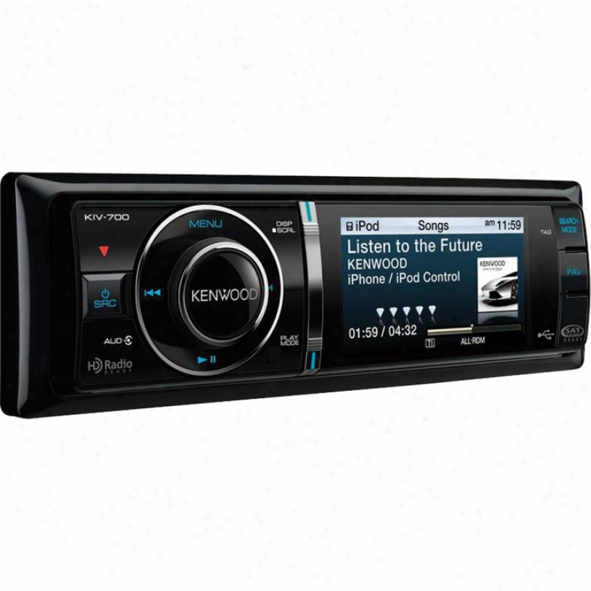 Kenwood Kiv-700 In-dash Vehicle Digital Media Receiver