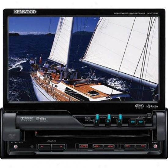 Kenwood Video P-nav512 Dvd + Navigation Combination Package