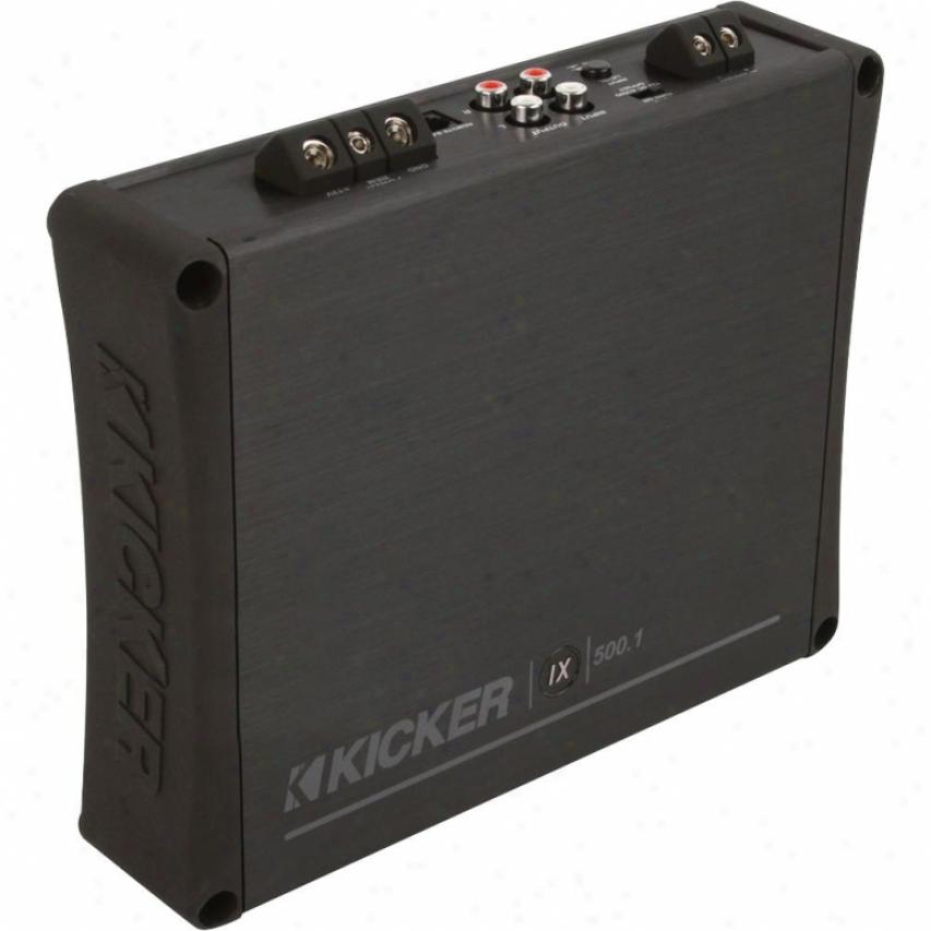Kicker 500 Watt Mono Car Amplifier 10ix5001