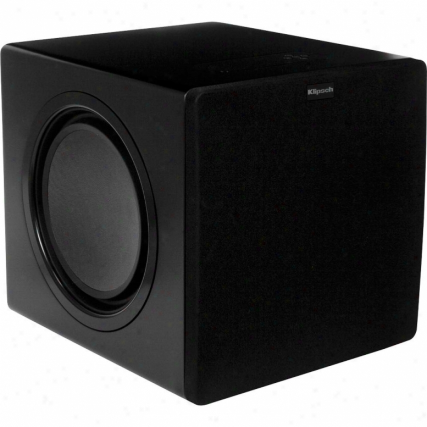 "Klipsch 10"" 500-watt Powered Subwoofer - Black Satin - Sw-311"
