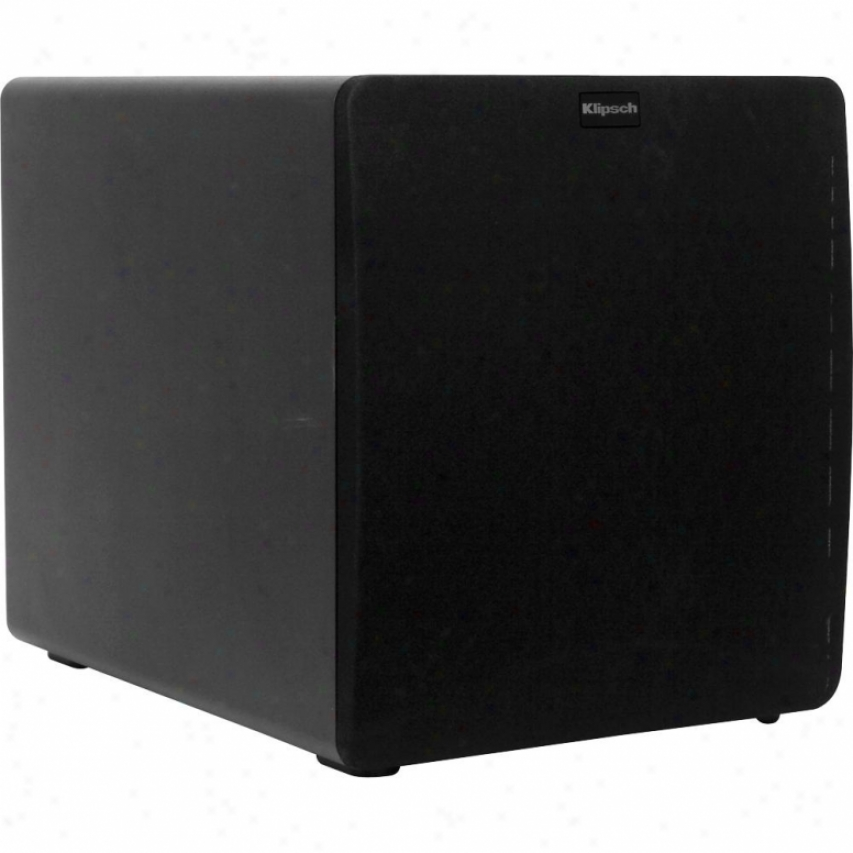 Klipsch 12-inch 300 Watt Reference Ii Powered Subwoofer - Black Pica - Sw-112