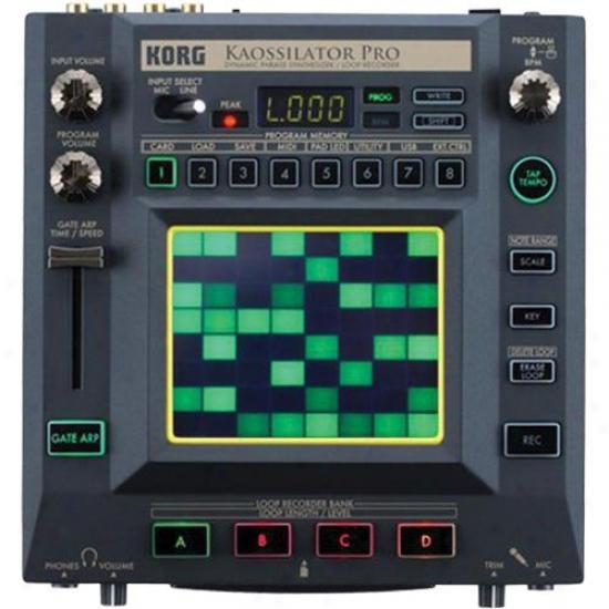 Korg Kaossilator Pro Dynamic Phrase Synthesizer/loop Recorder