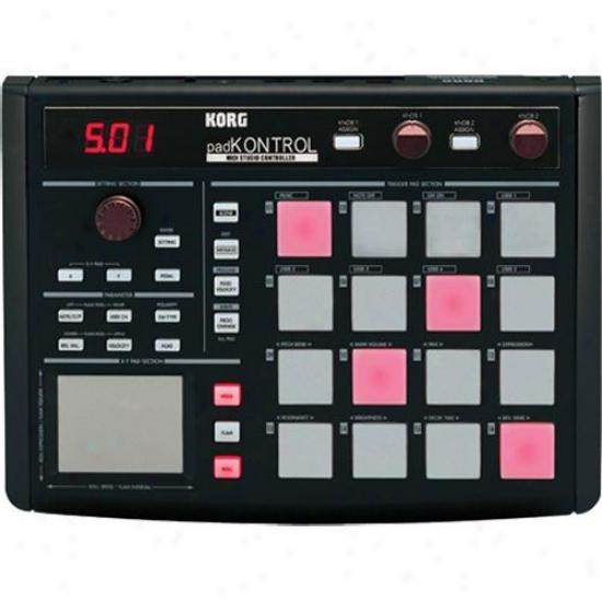 Korg Padkontrol Midi Studio Controller - Black