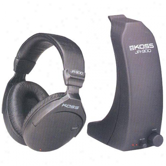 Koss Jr-900 Cordless Rf Headphones