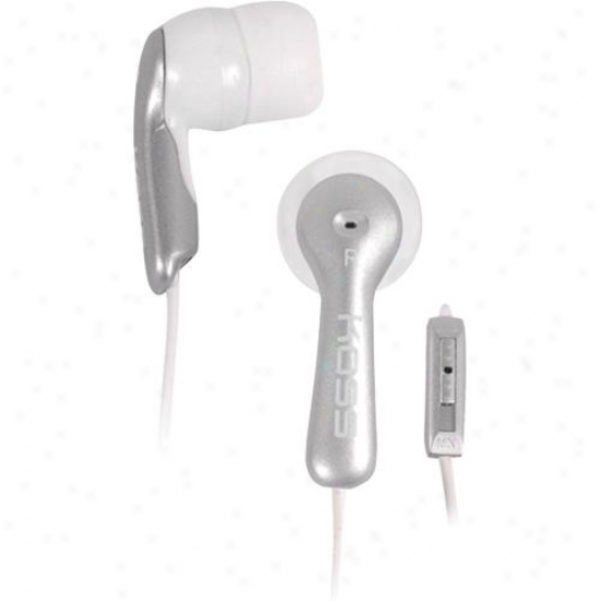 Koss Mirage Earbuds - Silver